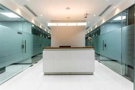 مکتب  للايجار في الخليج التجاري، دبي - Free Utilities | Modern Furnished Office | 1 Year Ejari