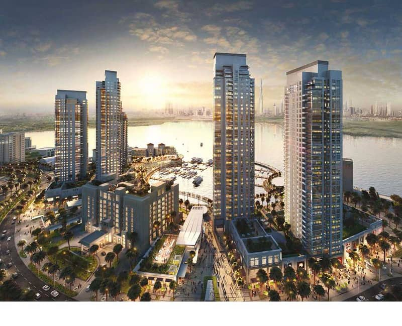 2 Ready to Move   3BR in Dubai Creek Residences
