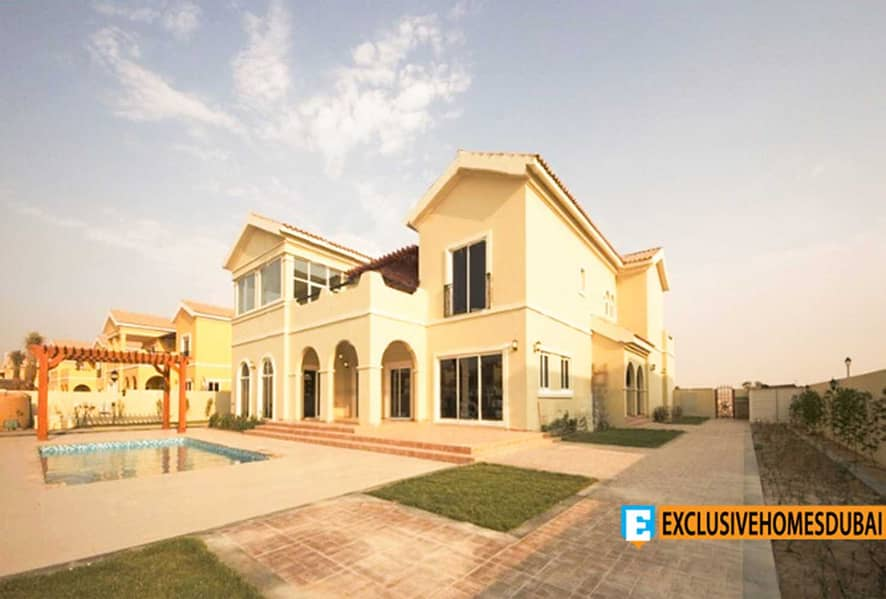 Exclusive | Andalusia 5BR + Study | Pool