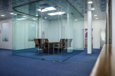 Office for Rent in Al Garhoud, Dubai - FULLY  FURNISHED OFFICE FOR RENT