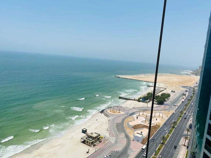 LIMITTED OFFER 3BHK SUPER DUBLEX APPARTMENT AVAILABLE FOR SALE CORNICHE RESIDENCE TOWERS AJMAN 5% DOWNPAYMENT SAME TIME TRANSFER AND GET THE KEY  , 7 YEAR PAYMENT PLAN