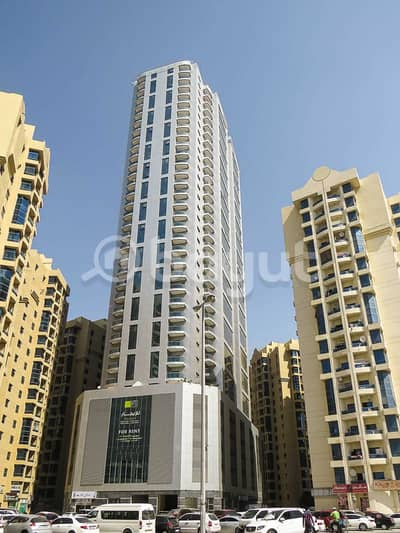 2 Bedroom Flat for Rent in Ajman Downtown, Ajman - Al Khour C /AC & Parking Free/one month Free