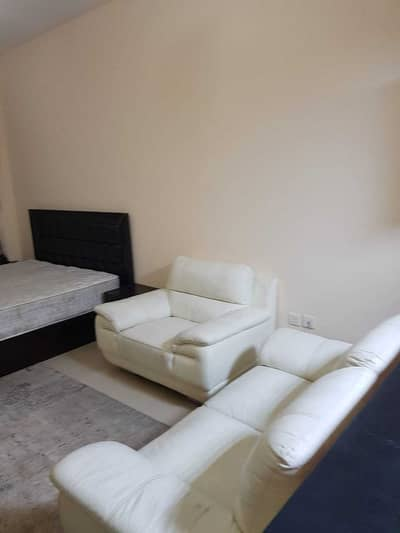 Studio for Rent in Al Nuaimiya, Ajman - Furnished studio, clean brushes, in Al Nuaimiya C Towers, including electricity, water, sewage, internet, close to all services, easy exit to Dubai an