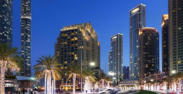 4 Bedroom Flat for Sale in Downtown Dubai, Dubai - Luxurious Burj Views | Payment plan | No Commission