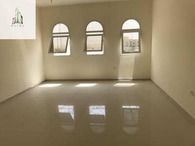 فیلا 6 غرف نوم للايجار في جنوب الشامخة، أبوظبي - Brand New villa in Riyadh city zone 18 private entrance