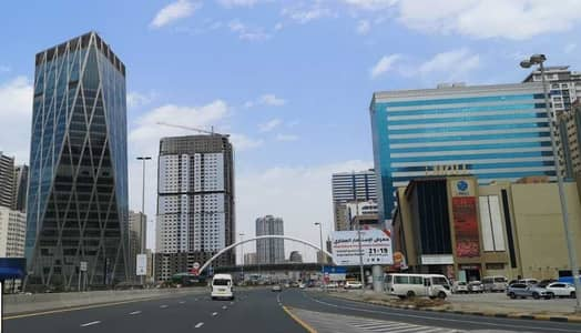 Office for Rent in Al Taawun, Sharjah - Shell & Core Offices Available at Premium location in City Gate Tower