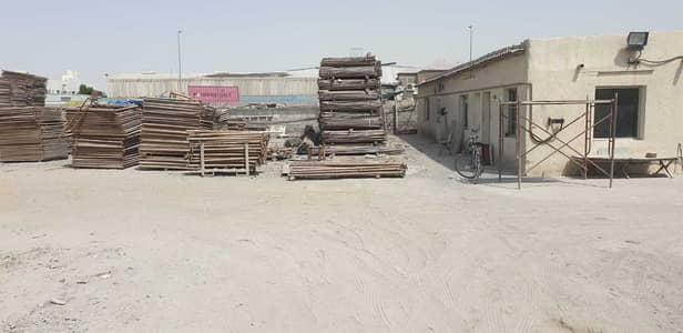Industrial Land for Rent in Industrial Area, Sharjah - Open land with 3 rooms in prime location !!