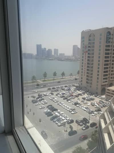Office for Rent in Corniche Al Buhaira, Sharjah - Beautiful Partitions/60 Days FREE/Fitted/Low rent !!