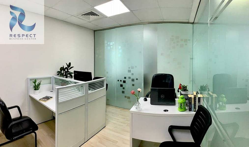 SPACIOUS FURNISHED OFFICE   CLOSE TO THE METRO STATION