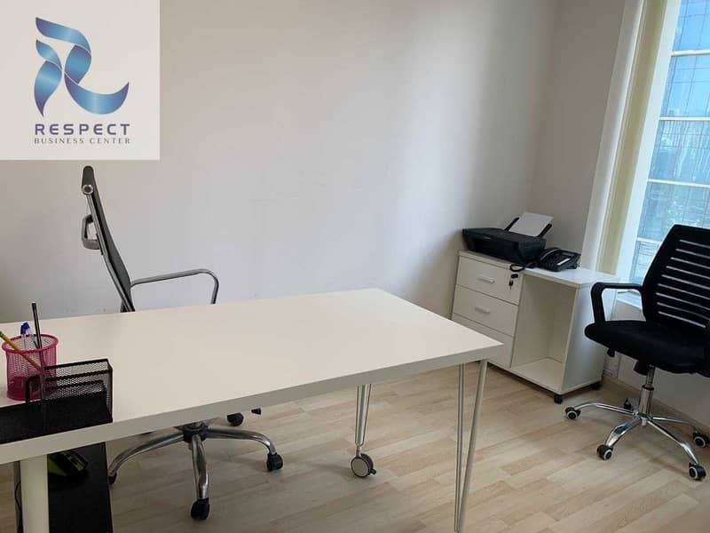 2 SPACIOUS FURNISHED OFFICE   CLOSE TO THE METRO STATION
