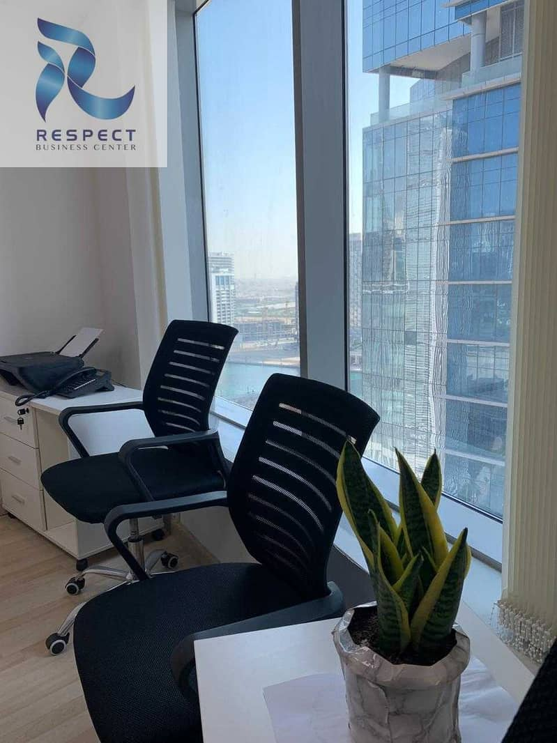 11 SPACIOUS FURNISHED OFFICE   CLOSE TO THE METRO STATION