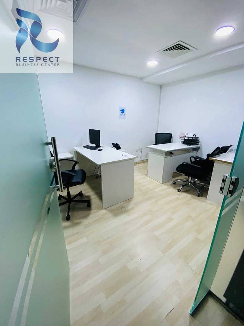 Desk space with Ejari  / DED Aproved  / One Year Validity