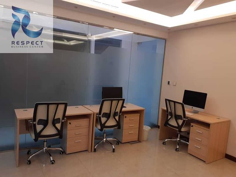 SHARING Office with FREE sponsor EJARI| NO VAT |NO COMMISSION