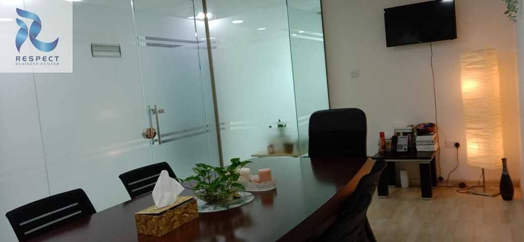 21 Desk space with Ejari  / DED Aproved  / One Year Validity