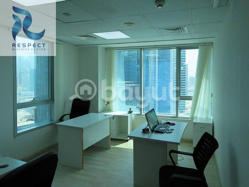 2 Business Bay Office Rental with EJARI