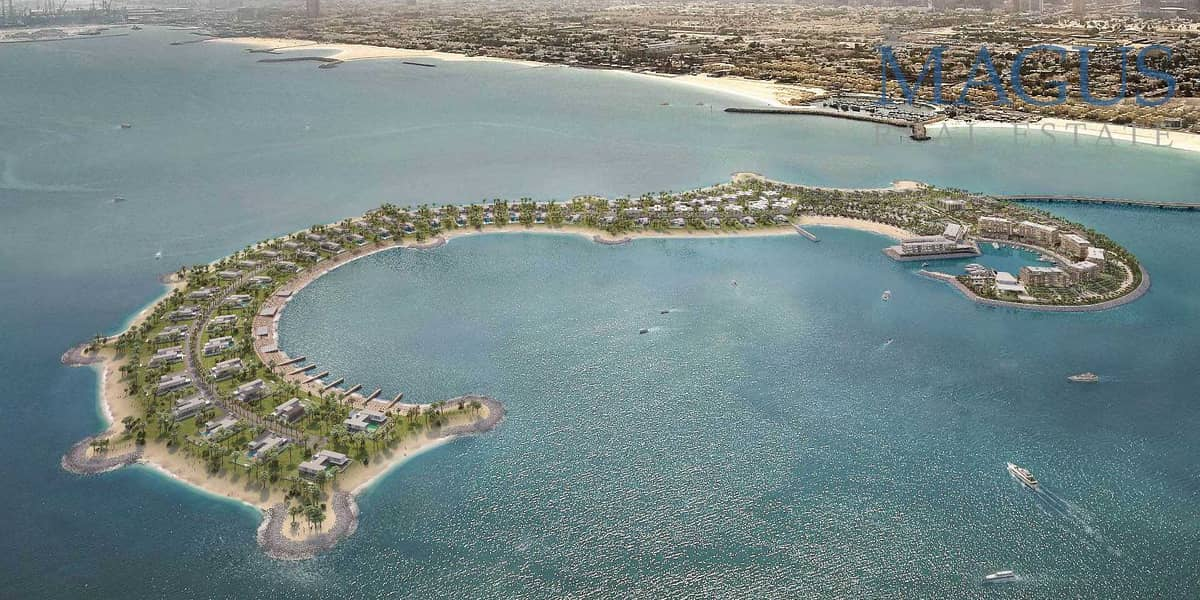 Plot for Sale in Jumeirah Bay Island