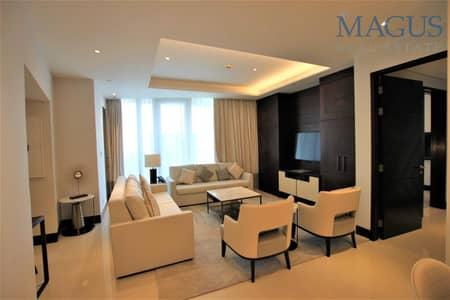 2 Bedroom Apartment for Sale in Downtown Dubai, Dubai - Higher Floor | Sea & SZR view | Spacious 2 BR