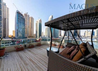 3 Bedroom Flat for Sale in Dubai Marina, Dubai - Bespoke Apartment | Elegantly Upgraded | Furnished