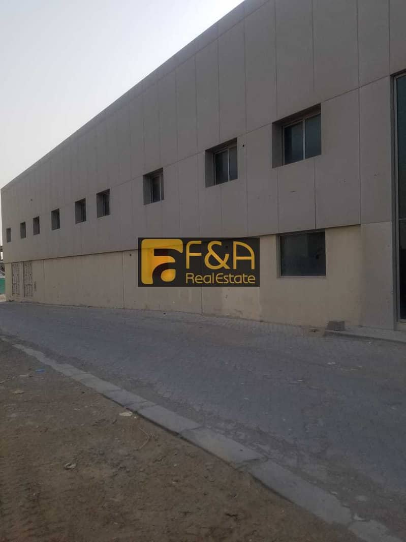 Warehouse for Factory with 250 KV Electricity  in New Industrial area
