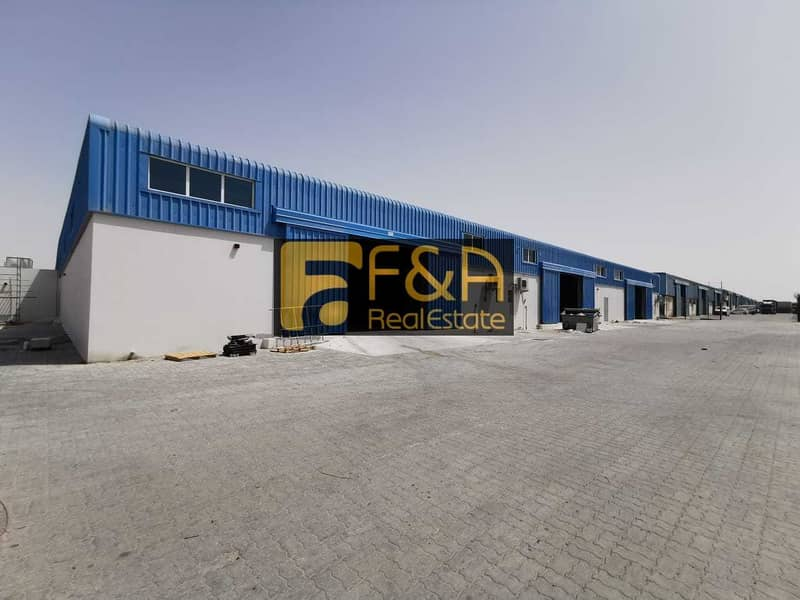 2 610 Sqft Warehouse 24/7 security  per sqft  15 AED