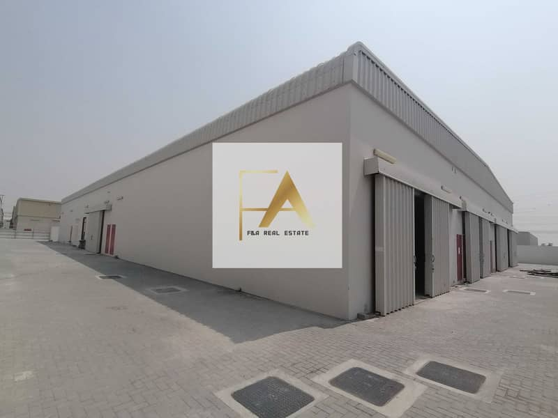 Brand new warehouse in industrial area 18 in discount price