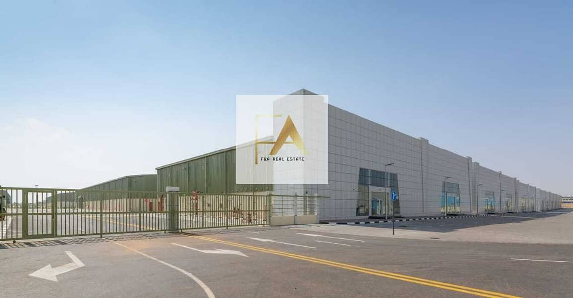 2 Insulated Warehouse for factory in Umm Al Quwain