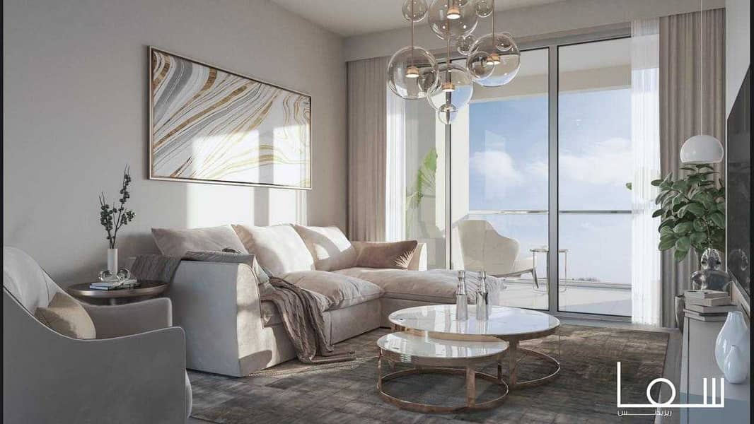 Own your apartment without down payment in Sharjah city walk