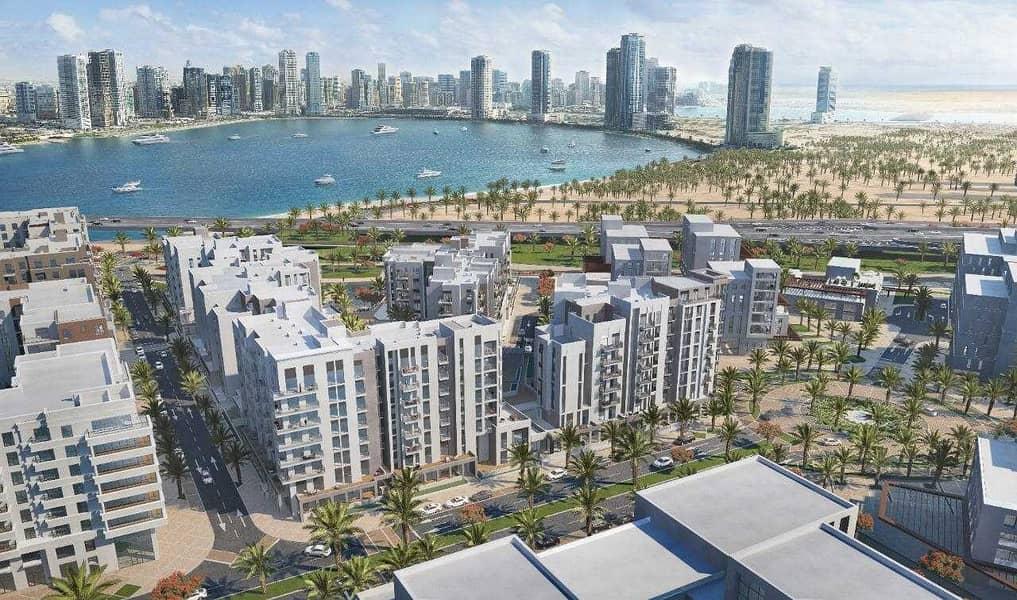 Own a one bedroom apartment in al khan ( maryam island