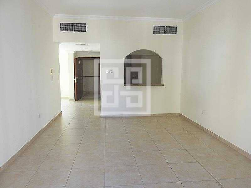 Bright Spacious ONLY 2 BR + Maid Room Apartment Close to Gems School