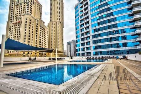 فلیٹ 1 غرفة نوم للايجار في دبي مارينا، دبي - Bright & Spacious | Opposite To JBR | Low Floor