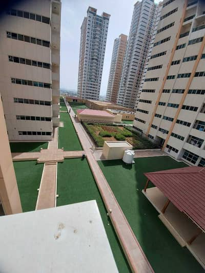 1 Bedroom Flat for Rent in Al Sawan, Ajman - FOR RENT: 1 BHK +PARKING+WITH LAUNDRY ROOM  IN AJMAN ONE TOWER 5 MINUTE AWAY FROM  AJMAN ONE