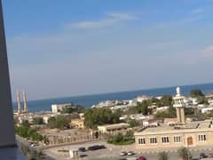 FOR SALE 1BHK  EMPTY  WITH PARKING FULLY OPEN VIEW AND SEA VIEW IN AJMAN ONE TOWERS