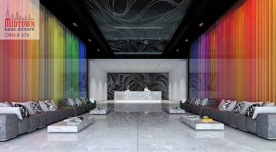 استوديو  للبيع في مجمع دبي ريزيدنس، دبي - شقة في برج بلو وايف مجمع دبي ريزيدنس 363000 درهم - 4305880