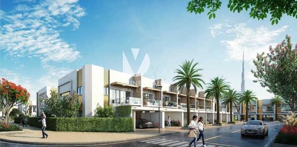تاون هاوس 2 غرفة نوم للبيع في مدينة ميدان، دبي - Modern Townhouse |2 BR + Maid's Room | Prime Location