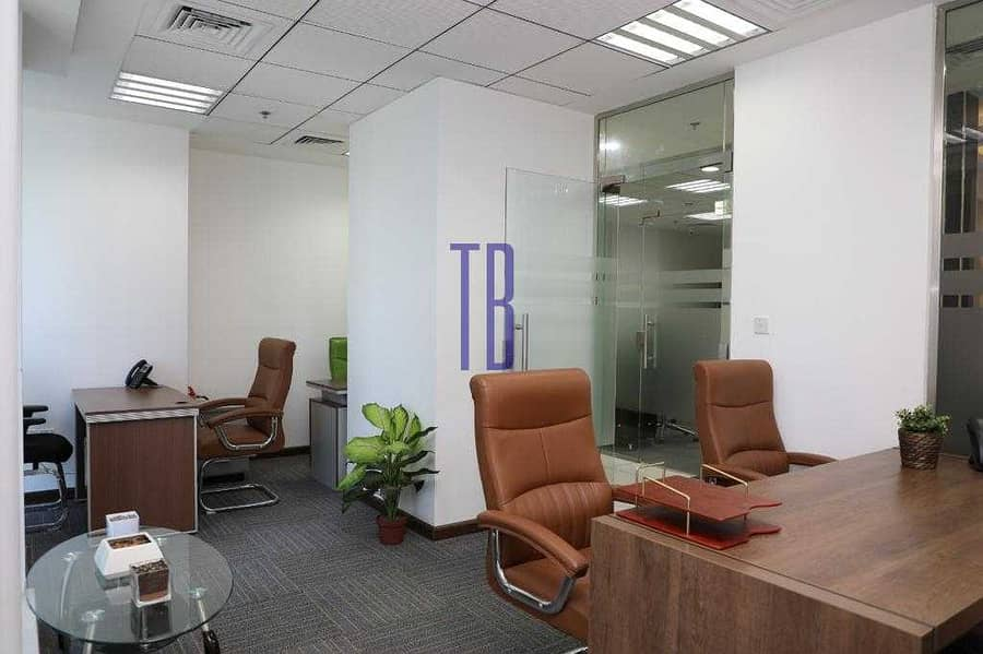 2 Fully Furnished Offices | SZR | Great Prices