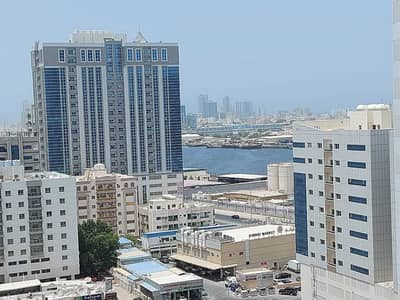 2 Bedroom Apartment for Rent in Ajman Downtown, Ajman - 23000 AED Two Bed Hall Open  VIew  In Ajman Pearl Towers