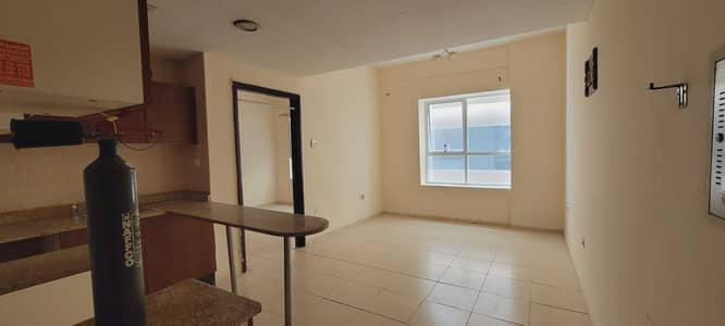 1 Bedroom Flat for Rent in Garden City, Ajman - 1 Month Free 1 Bedroom Hall Garden City Almond Tower For RENT 13000/- 4 or 6 Chqs