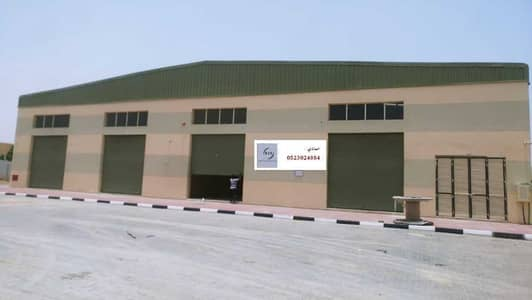 Warehouse for Rent in China Mall, Ajman - New warehouses for rent (2100 feet) in Al Jurf on the main street, next to the Chinese market, at an incredible price of only 45,000 dirhams