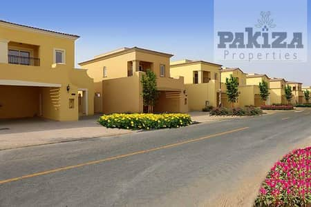3 Bedroom Townhouse for Rent in Dubailand, Dubai - Brand New 3 Bed Villa for Rent in Amaranta. Great Location.