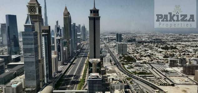 فلیٹ 3 غرف نوم للايجار في شارع الشيخ زايد، دبي - LOVELY VIEW!!NEAR METRO!!NO COMMISSION!