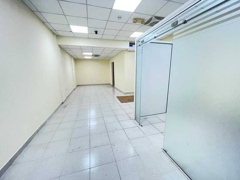 Full ready Shoop for rent with manager room suitable for store with office easy access for parking