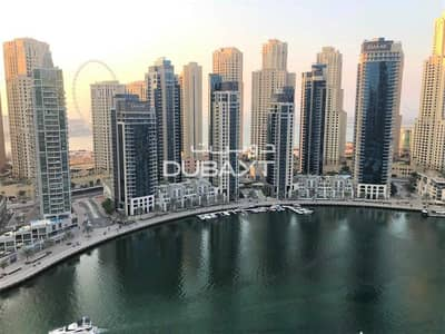 3 Bedroom Apartment for Rent in Dubai Marina, Dubai - Pay 4 Cheqs 3 BR + Balcony