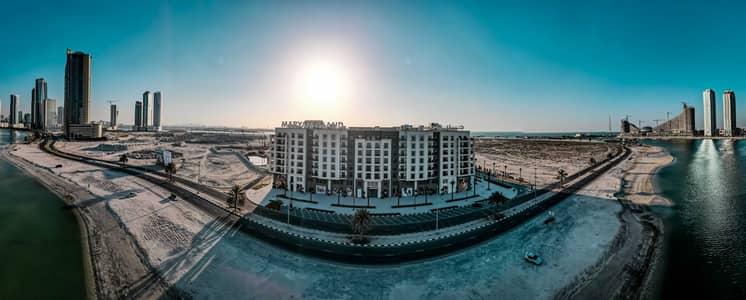 فلیٹ 2 غرفة نوم للبيع في الخان، الشارقة - شفقه / غرفه وصاله / الشارقه / جزيره مريم / الواجهه المائيه
