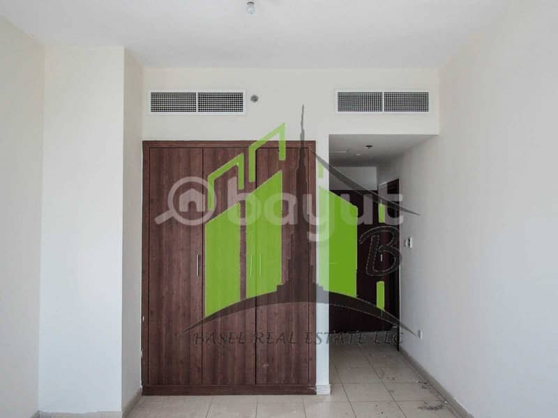 Big Sized 1 Bedroom with free parking and full sea view for sale in Ajman One Towers