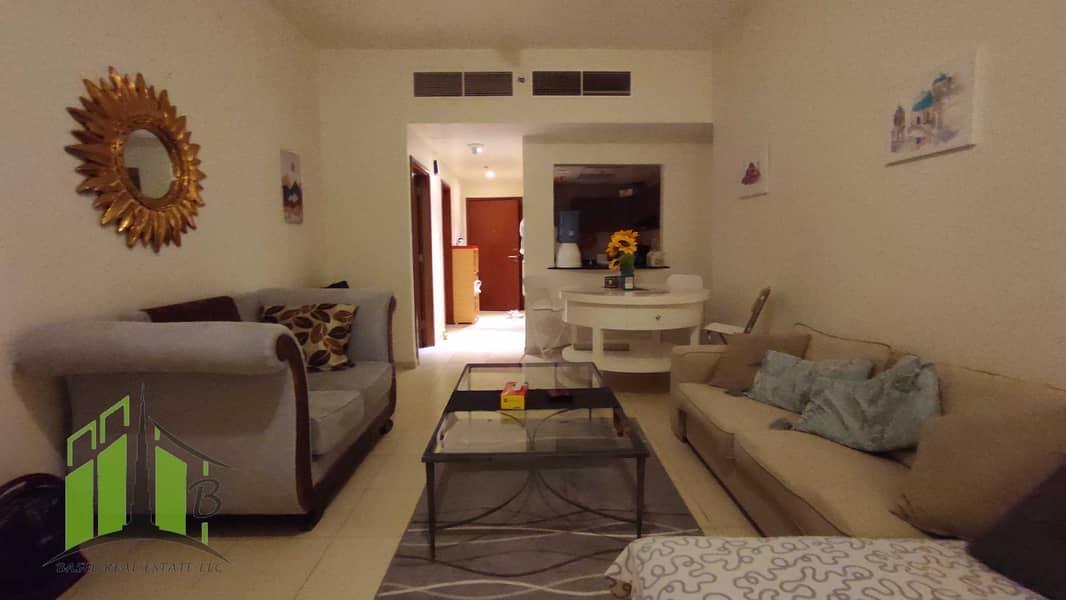 شقة في أبراج عجمان ون الصوان 1 غرف 3300 درهم - 5204952