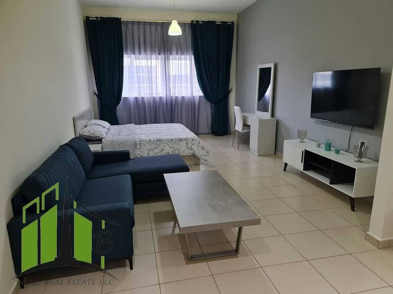 BEAUTIFUL AND SPACIOUS FULLY FURNISHED STUDIO FLAT FOR RENT
