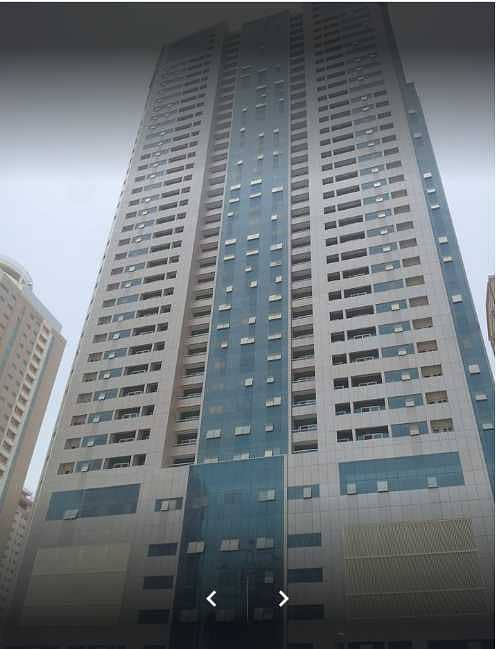 To let spacious 2 bhk apartment with bright living room in Gulf Perl Tower, Al Nahda Sharjah