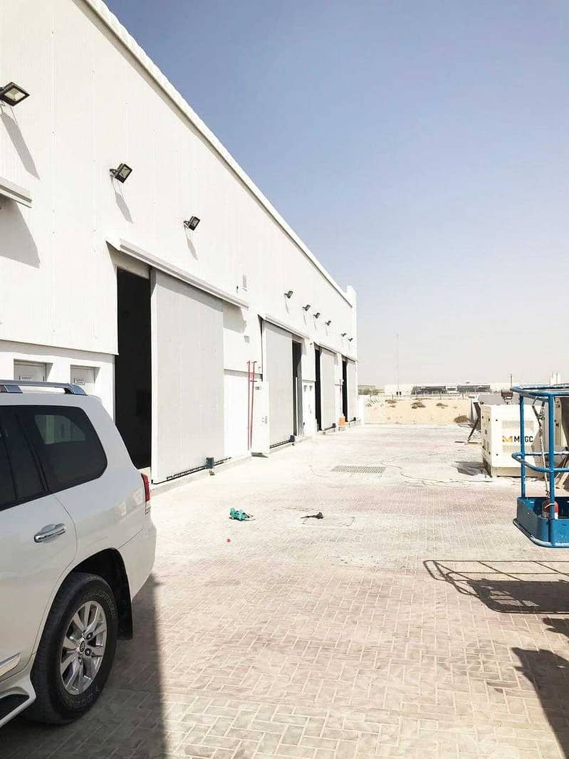10 Brand New warehouse available in Jebel Ali