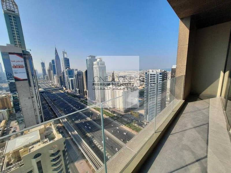 1 BHK with Stunning Skyline view of Dubai