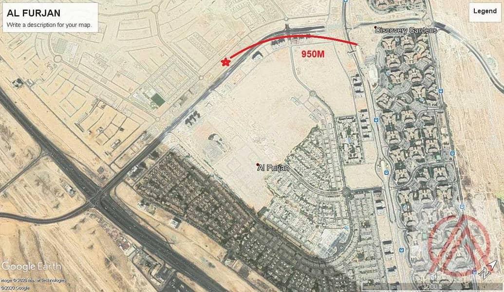 2 Mix Use G + unlimited Floors Corner plot for 16.5M Al Furjan